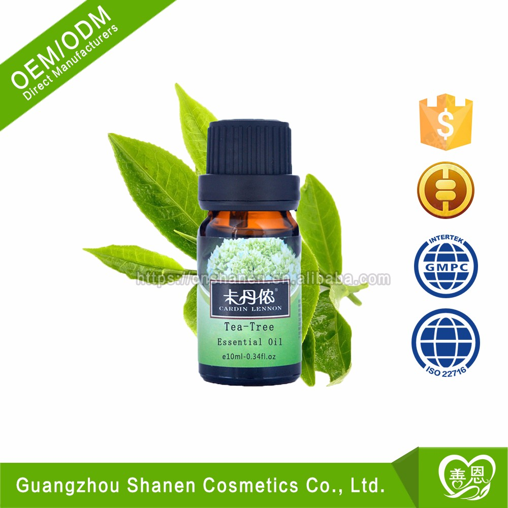 ODM/OEM Aromatherapy Tea Tree 100% Pure Natural Essential Oil