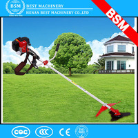 India cheap price 2-stroke Air-cooled gasoline Knapsack hand grass cutter/grass cutting machine