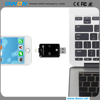 Factory usb iflash drive customized logo OEM 3in 1 usb flash drive HD for iphone/android with free sample