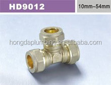 brass 10mm compression fittings