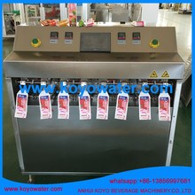 juice/beverage/water drinks/milk/yogurt/jam jelly/honey tube bottle shaped pouch bag making machine