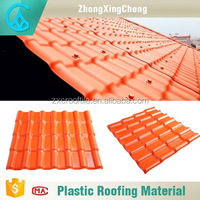 High quality products synthetic resin Waterproof light weight spanish tile roof