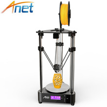 2018 Anet A4 3D Printer Pulley Version Linear Guide DIY Kit Kossel Delta Large Printing Size 3D Metal Printer