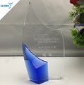 Wholesale high quality Stock crystal sailing trophy