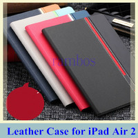 Luxury Slim PU Leather Smart Flip Stand Cover Case Funda for iPad Air 2 for iPad 6