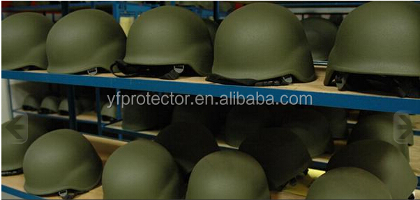 bullet proof ballistic helmet with shield face visor