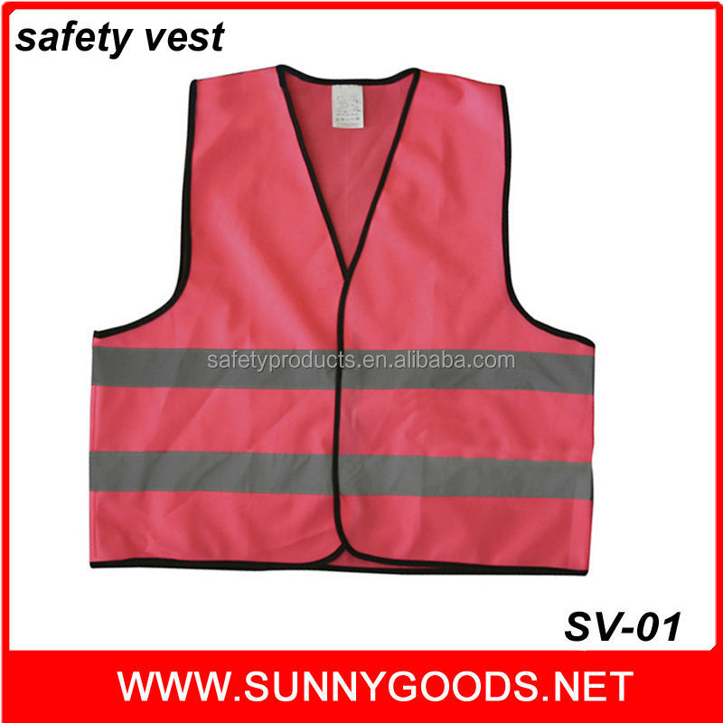 high visibility clothing glow in the dark 3m reflective safety vest