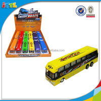 EN71 Approval Alloy Bus Car Model Inflatable Scale Bus For Children Die Cast Bus