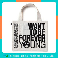 Top Quality Shopping Tote Custom Printed Cotton Bag