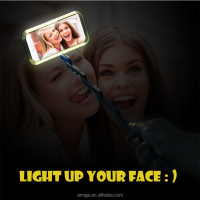 led selfie light custom design wholesale unique phone case for iphone 5 6 for samsung galaxy s7