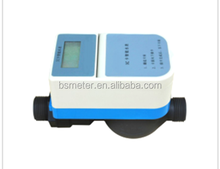 RF Card Cold Prepaid Water Meter with Brass Valve Control
