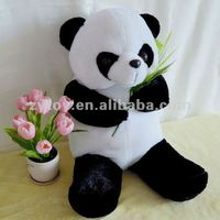Custom soft toy home improvement Plush panda mascot