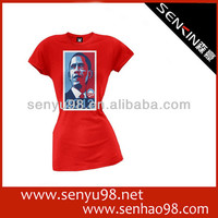 4 Fashion Red Girl's T-shirt Design