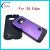 China supplier rubber hard back holders case cover for S6 Edge, back cover case s6, hard case cover for Samsung S6 Edge