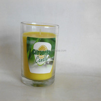 Scented Soy wax candles: VANILLA