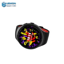 New fashion wifi round screen gps gprs camera Z10 smart mobile watch phones