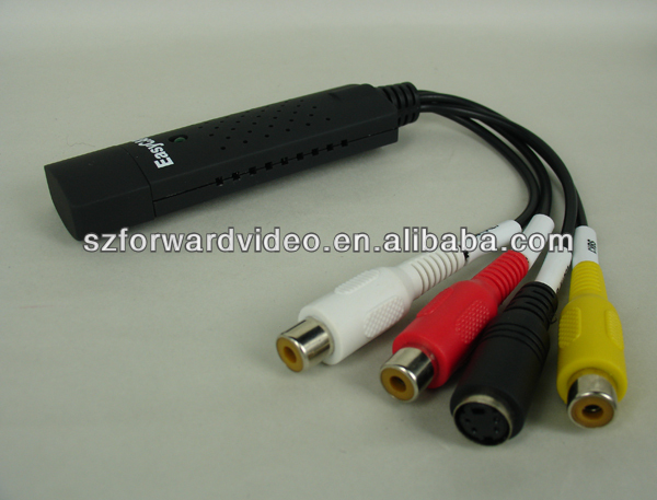 USB 2.0 Audio Video Capture Adapter HDTV VHS DVD
