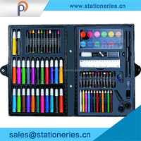 colorful water color pencils art drawing set