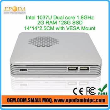 Cheap Mini Desktop Celeron Quad Core Computer Android Win Linux All Support working with touch screen monitor