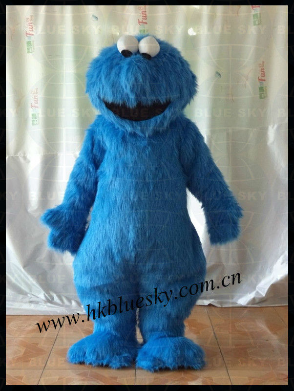 good feedback cookie monster costume