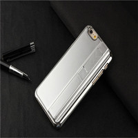 Luxy customized logo design plastic phone cover Cigarette lighter plastic case for iphone6 4.7 ''