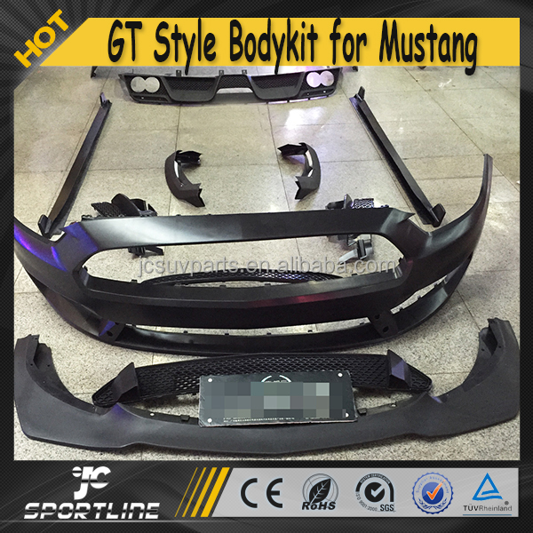 GT Style PP Car Styling Bumper Body kit for Ford Mustang 2015