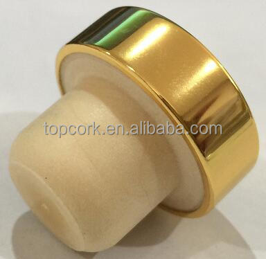 wine bottle stopper ,quality assuranceTBE19.8-30.8-15.8-10.5-7.5g gold
