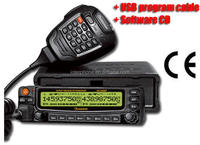 cheap radio,Wouxun KG-UV920P Cross Band 136-174 400-480Mhz + USB Cable + CD Car Mobile Radio