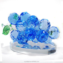 Creative Crystal Glass Grapes Ornaments Home Wedding Valentine Decorations Gifts