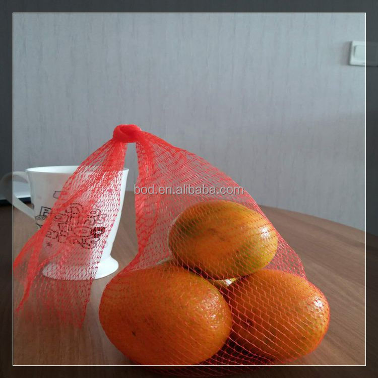 High quality extruded plastic reusable plastic mesh bag