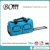 waterproof wheeled duffle bag polo trolley travel bag