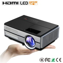 4k LED Projector 3D 1080P Video home Cinema 1200Lumens pico projector