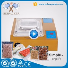 Table top meat mini vacuum packing machine