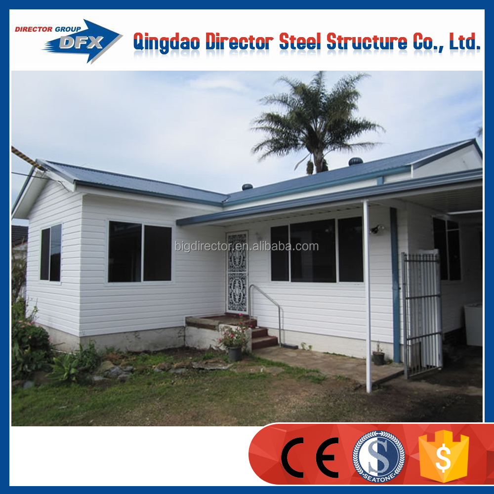 pu sandwich panel prefab residential houses design