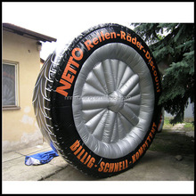 2015 NingBang full printing inflatable tire with customized LOGO cheap on sale