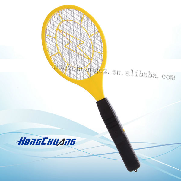 electric mosquito bug zapper/mosquito swatter racket