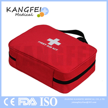 CE ISO FDA Approved KF36 Soft Case First Aid Kit For Easy Access In Emergencies For Home Car Travel Camping Sports