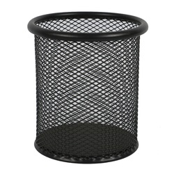 Wideny school Black office desk desktop children metal mesh pen holder for office supplies