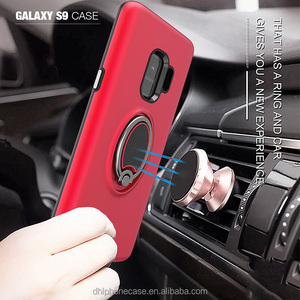 finger ring holder OEM models Shockproof with car magnet phone holder phone case for iphone 6 7 8 X, for Samsung galaxy S9,j7