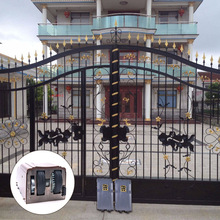 Garden Entrance luxury wrought square pipe designs simple iron gate