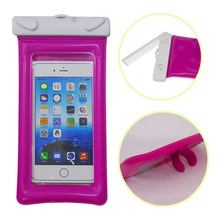 factory wholesale soft pvc waterproof bag for smartphone case