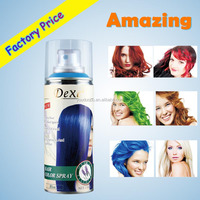 100 hair color spray best import private label present beauty hair color product