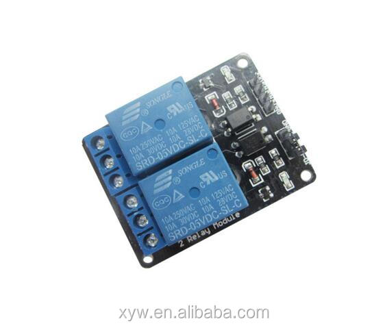 2 Road 2 Way 5V Relay Module Relay Expansion Board with Opticalcoupler Protection Function Module