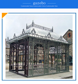 Outdoor Gazebo wrought iron gazebo for sale
