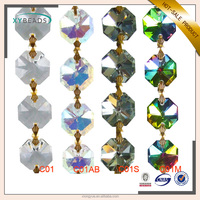New arrival crystal glass material chain chandelier for wholesales