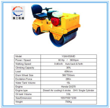 Diesel engine used Twin drum road roller used dynapac road rollers ride on hydraulic road roller