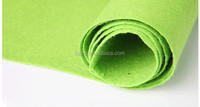 Needle punched plain carpet felt rug anti slip mat roll
