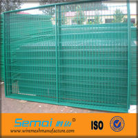 PVC/Plastic Coated Welded Wire Mesh Fence Panel