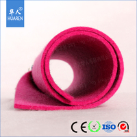 wholesale 5.5mm thick colored 100% wool felt
