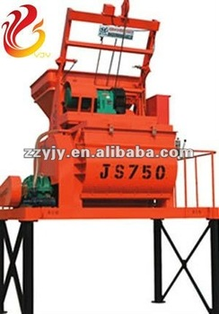 JS750 Twin Spiral mixer for concrete